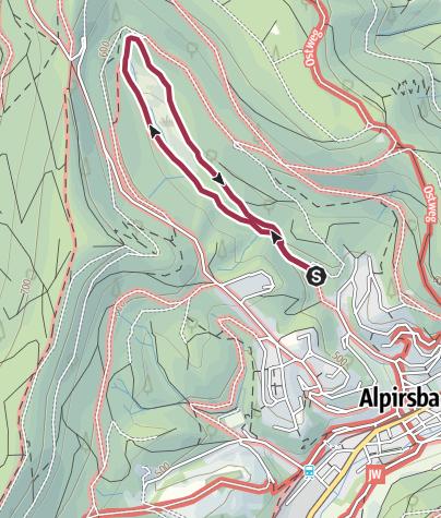 Karte / Glaswiesen und Glaswald Alpirsbach