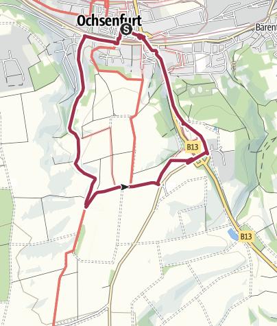 Map / Rundwanderweg St. Wolfgang