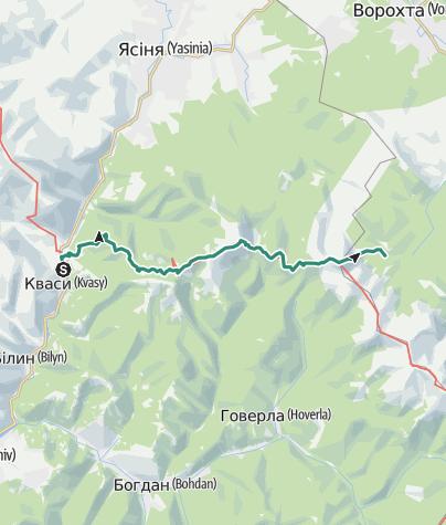 Mapa / Кваси - Заросляк