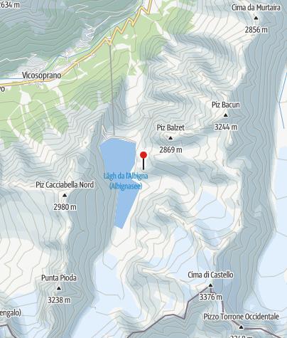 Karte / Albignahütte
