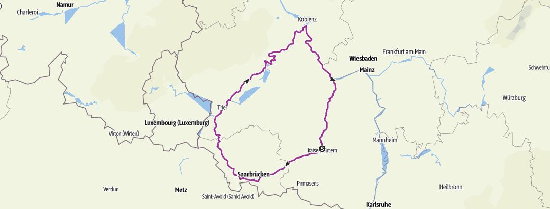 地图 / KL - Saar - Mosel - Rhein