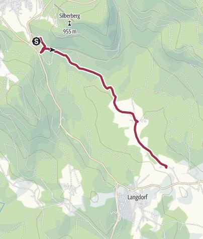 Karte / Vom Böhmhof zum Nebelsberg