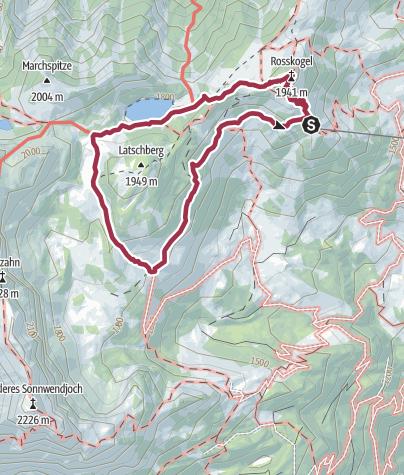 Karte / Idyllischer Zireiner See