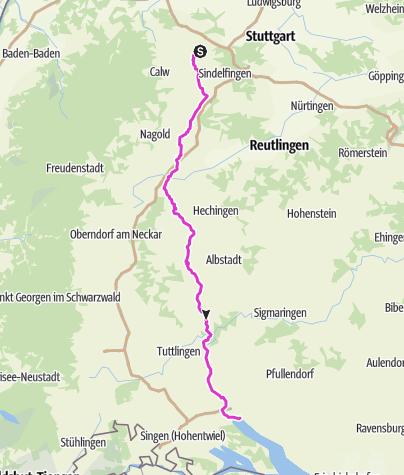 Cartina / Malmsheim - Bodensee