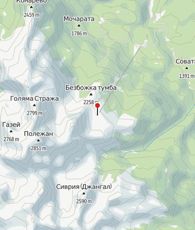 Karte / Hütte Bezbog