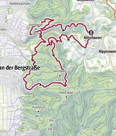 Karte / 2019-05-25-Grube Marie ab Jöste Andres 15km