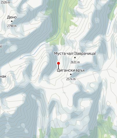 Karte / Hütte Zavratschitsa