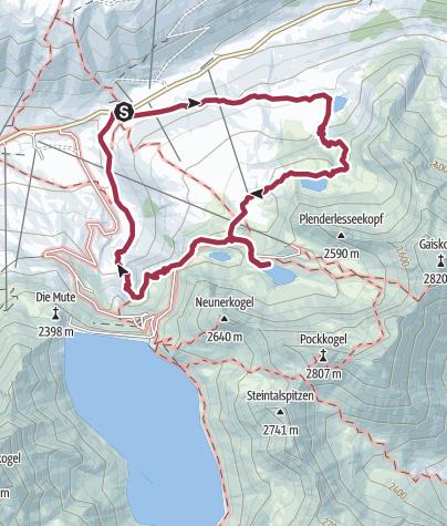 Mappa / Dreiseenwanderung