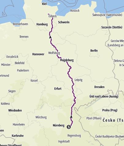Karte / Zwergen Tour