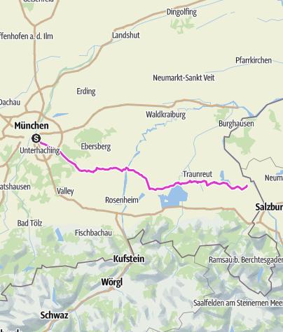Karte / München Leobendorf