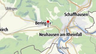 Map / Blauburgunderland / Klettgau / Rheinfall