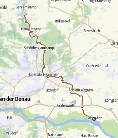 Karte / Tourenplanung am 24.05.2019 22:50:30