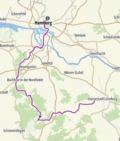 Map / HH - Lüneburg