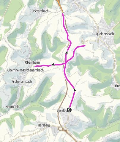 Karte / DM Nachwuchs Zeitfahren 2019