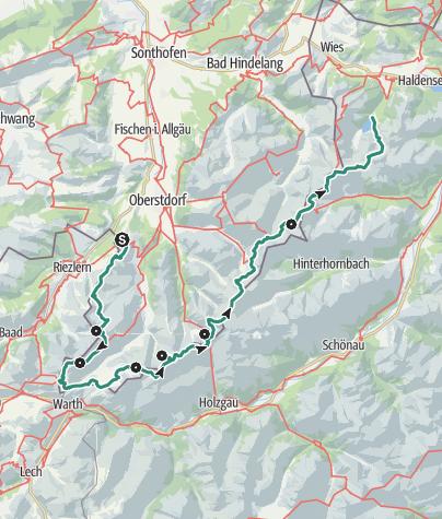 Map / Big Allgaeu crossing - standard version