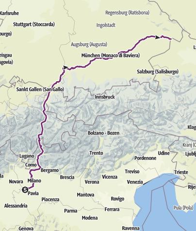 Mappa / Itinerario creato il 27 maggio 2019