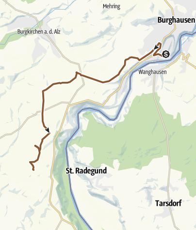 Karte / Tourenplanung am 28.05.2019 20:25:03