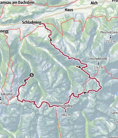 מפה / 4 dagen tocht