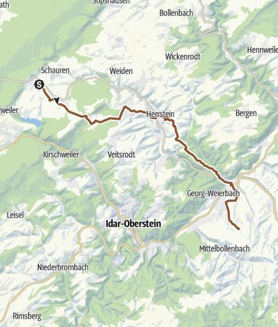 Karte / Tourenplanung am 30.05.2019 15:27:38
