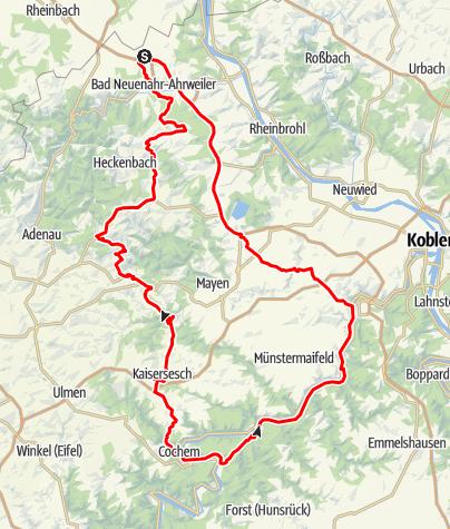Karte Eifel.Eifel Motorradtour Unterwegs In Der Eifel Und An Der Mosel