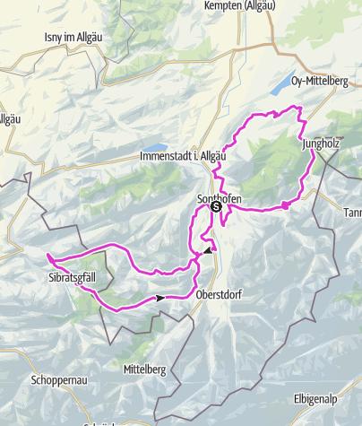 Karte / Gold-Race_Strecke_Sonthofen