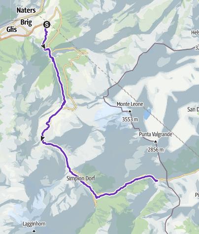Karte / Gondo Running