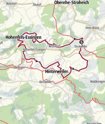 Map / Tour ab Campingpark Dockweiler