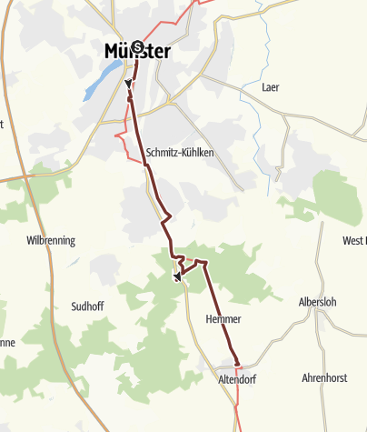 Map / KPW2019_01 von Münster nach Rinkerode am 16.6.2019