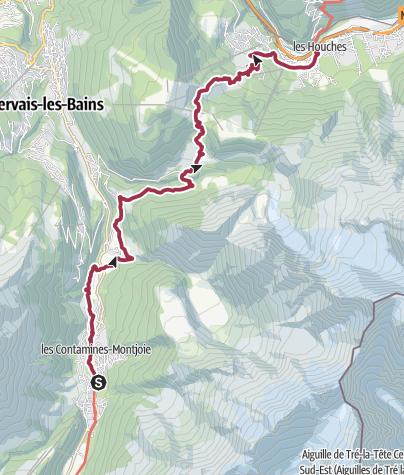 Map / TMB J 10 - Contamines - Les Houches
