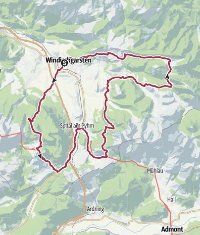 Karte / 24 h Nepal 2019 Finalstrecke