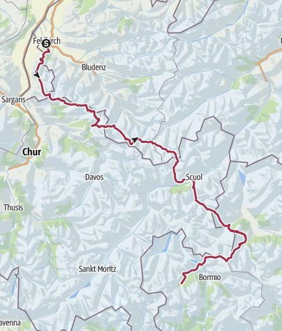 Map / Tour from GPX track at June 9, 2019