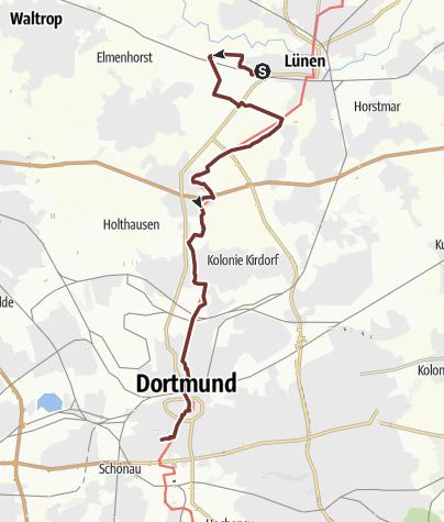 Map / KPW2019_04 von Lünen nach Dortmund am 19.6.2019