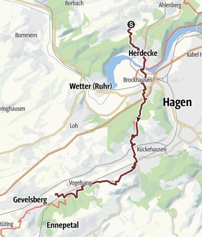 Map / KPW2019_06 von Herdecke nach Gevelsberg am 24.6.2019