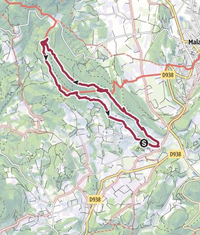 Karte / Les Gippières
