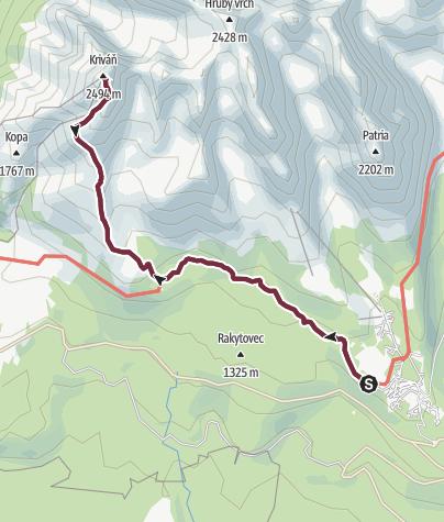 Map / Krivan