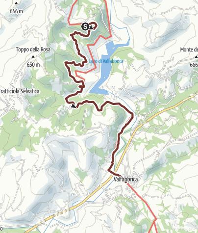 Cartina / Castello di Biscina - Valfabbrica