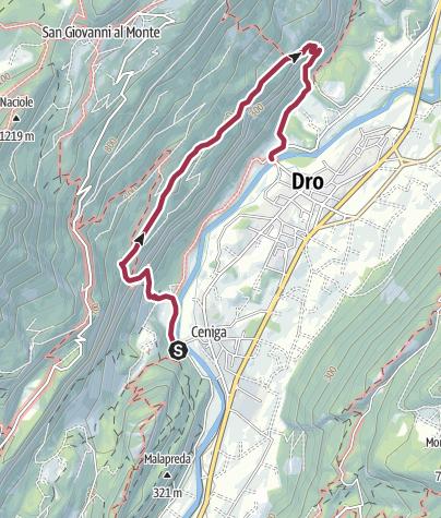 Mapa / Tour de la piste GPX sur 17 juin 2019