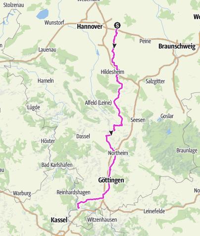 Kartta / Steinwedel HannMünden