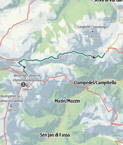 Карта / dolomitas dia2