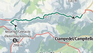 Mapa / dolomitas dia2