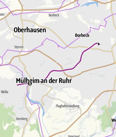 Map / Mülheim-Essen