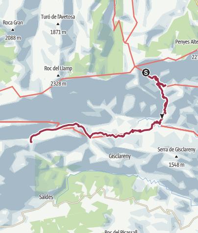 Karte / 4. Tag Sant Jordi - Gresolet