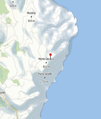 Karte / Cuile Sa Enna 'e S'Orgiola
