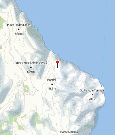 Karte / Cuile Su Runcu / Su Pressu