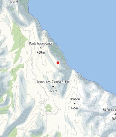 Karte / Cuile S'Arcu 'e Su Tasaru