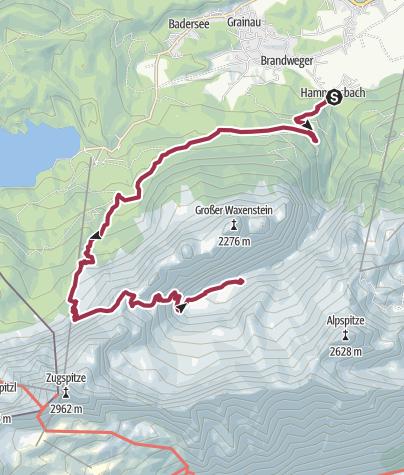 Map / ZDT 2019 King Size 1 Variante 2 (Bambini, Hike, Dogtrekking)