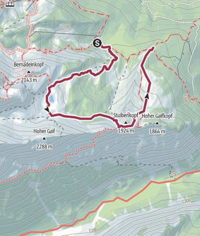 Map / ZDT 2019 King Size 2 (Hike, Dogtrekking)