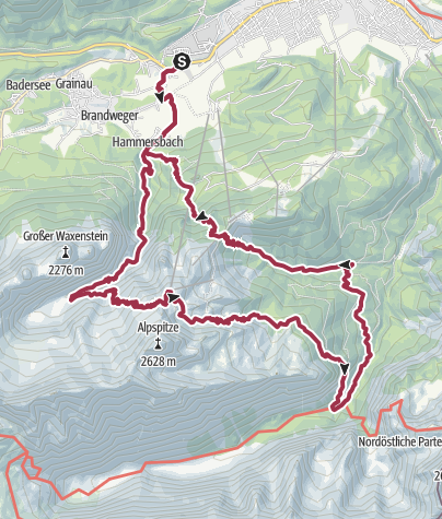 Map / ZDT 2019 Hike