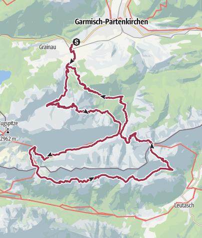 Map / ZDT 2019 Dogtrekking