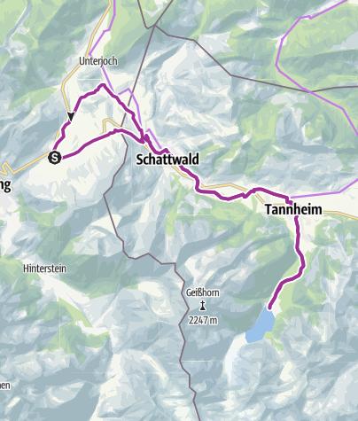 Karte / Panoramahotel Oberjoch - Vilsalpsee